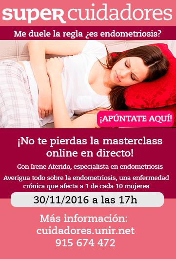 webinar endometriosis adenomiosis menstruación regla dolorosa me duele la regla