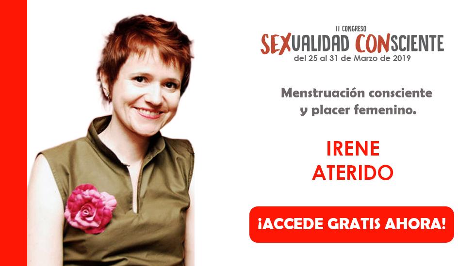 Irene Aterido en congreso sexualidad consciente