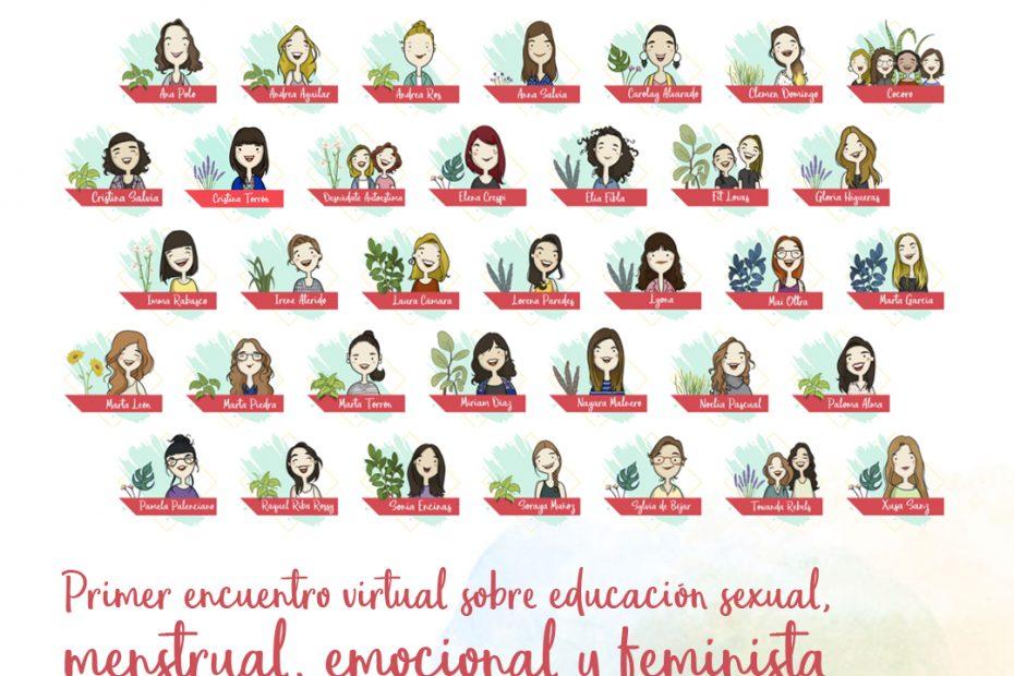 Menstruita Power encuentro virtual educación sexual y menstrual niñas