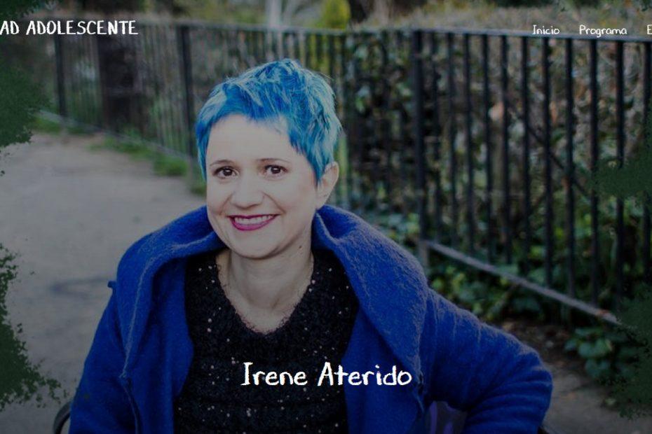 irene aterido presenta un vídeo en el congreso de educación sexual La Otra educación